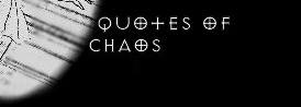 quotes of chaos
